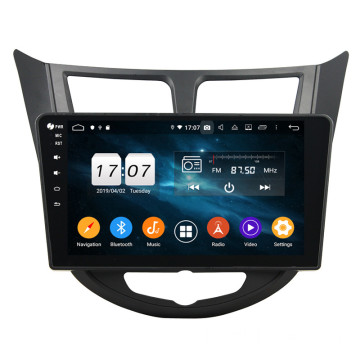 android car dvd voor Verna Accent Solaris 2011-2012