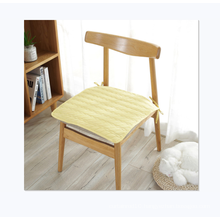 Accept custom Japanese style cotton square office chair cushion