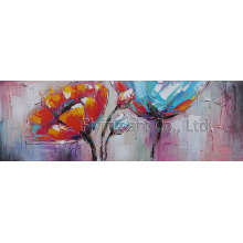 Abstract Reproduction Canvas Wall Art for Flower