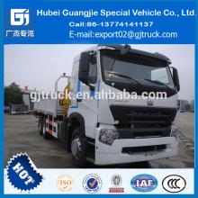 Carro grúa montada Sinotruk Howo 6 * 4 Camión grúa 8 toneladas