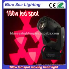 Luzes do ponto 180w conduziu a cabeça movente a iluminação do disco do partido home