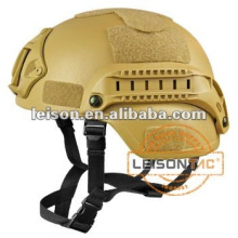 Ballistic Helmet meet NIJ standard with accessory rail connectors