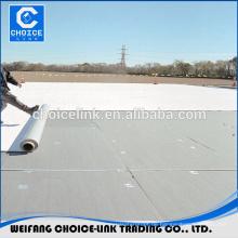 Verstärkte PVC-Dachdeckung wasserdichte Membran Preis