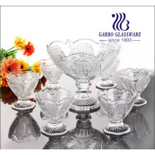 Classic Luma Glass Ice Cream Bowl Set