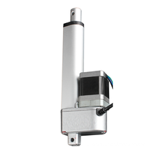 100mm Stroke Linear Actuator with stepper motor