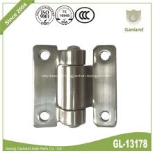 Dobradiça de porta plana de aço inoxidável para serviços leves