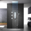 Ceiling Mounted LED Thermostatic Shower Faucet Set