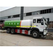 Camions à eau SINOTRUK 16 Ton Sprinkler