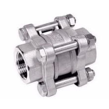 3-PC Type Check Valves, Screwed Ends