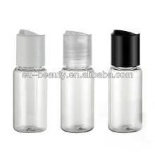15 мл прозрачная пластиковая бутылка из полиэтилентерефталата с верхней крышкой диска
