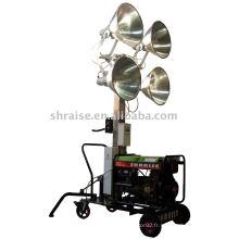 Tour d'éclairage (tour d'éclairage, tour d'éclairage mobile, tour d'éclairage portable)