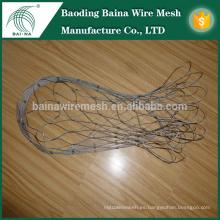 Bolso del acoplamiento de la cuerda del metal del acero inoxidable 85L con el acoplamiento de alambre cuadrado galvanizado