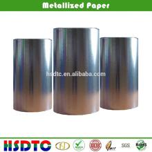 60gsm de alto brillo de papel metálico de vacío para impresión offset