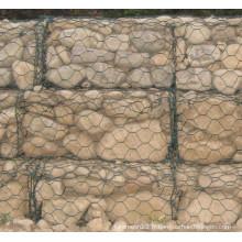 Mesh galioné Gabion, maillage gabion hexagonal