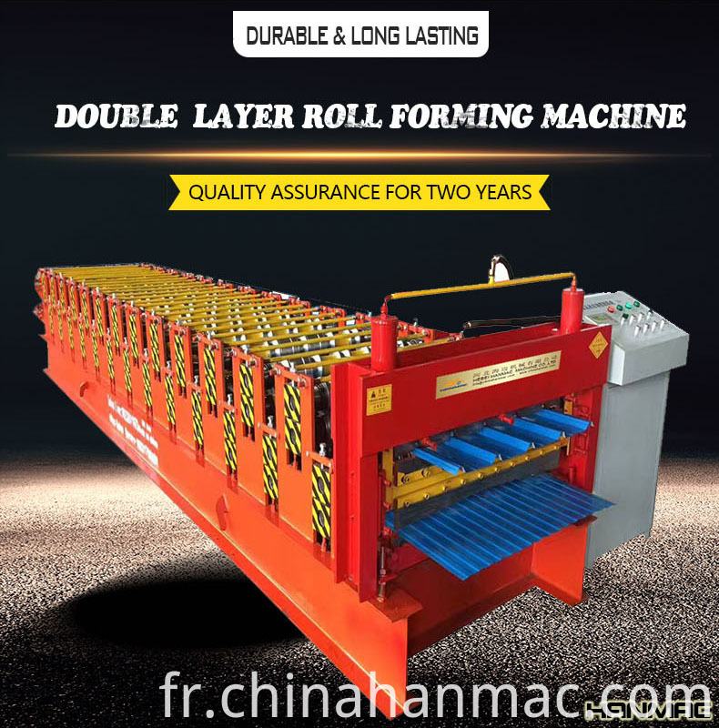 Double Decker Tile Making Machine