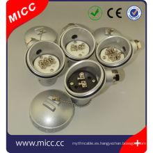 Cabezales de termopar KNE / Bloque de terminales de cerámica