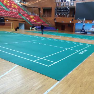 Enlio Gummimatte für Badmintonplatz