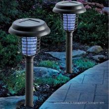 Nouvelle lampe solaire de jardin de projecteur de lumière de pelouse de LED
