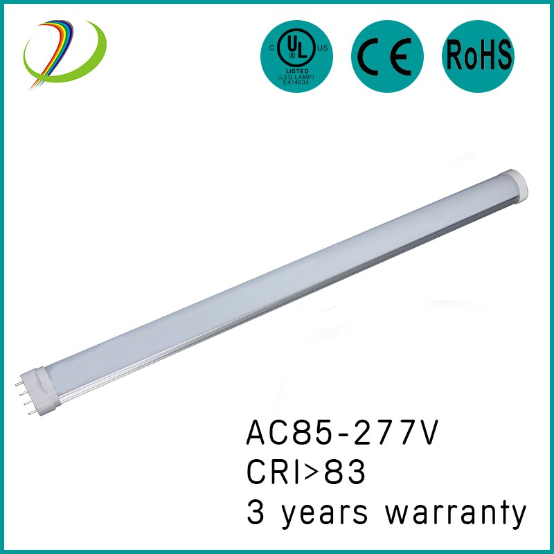 22W UL 2G11 led tube