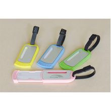 Pvc soft Luggage Tag