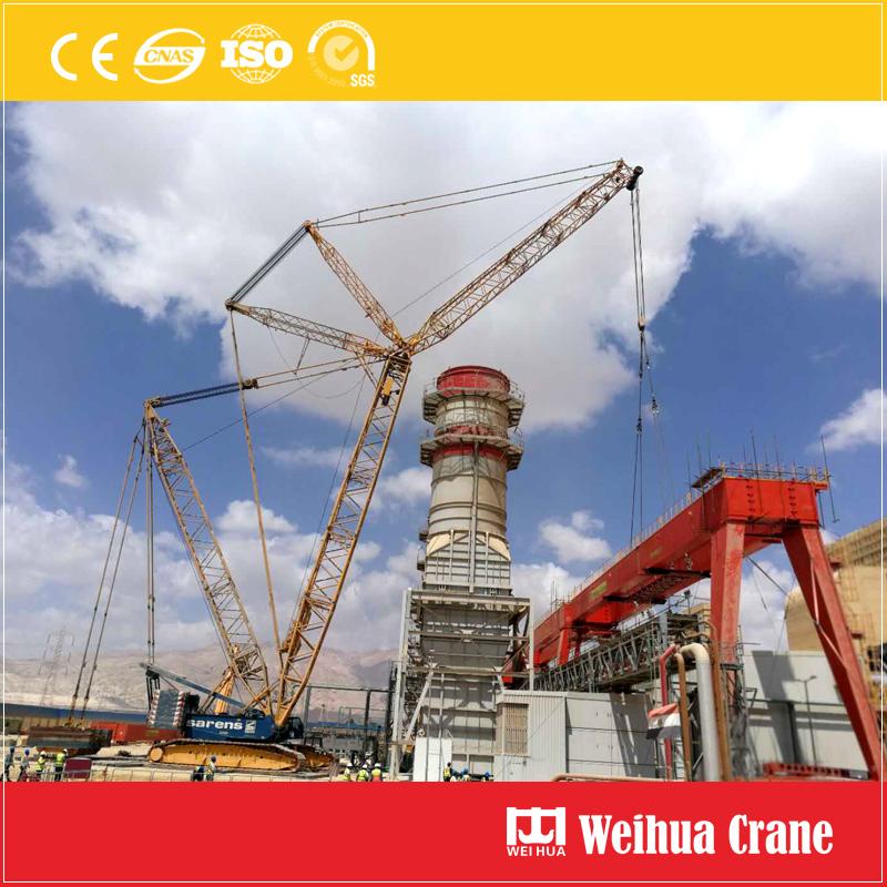 Power Plant Gantry Crane Installation