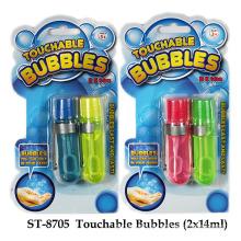 Brinquedo divertido da bolha de toque