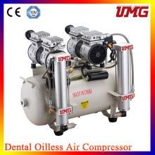 Compresseur d'air dentaire approuvé par la marque China Ce fournisseur de compresseur d'air dentaire