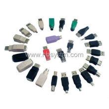 USB A bis Mini B 5-Pin Datenkabel Adapter Stecker / M MP3 DC USB Adapter