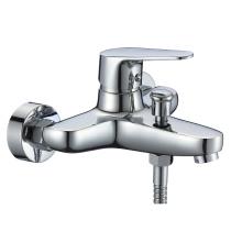 B0071-B New design shower bath tap bathroom zinc chrome bath mixer faucet