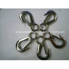 Factory Supplier Rigging Hardware Lifting Stainless Steel Eye Hoist Hook