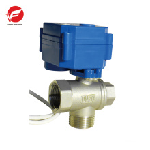 CWX-15q motorized ball flow valve control