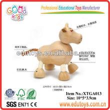 Hölzernes Spielzeug-Tier, Spielzeug-Stier