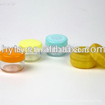 30/50/100/150 ml pot cosmétique pour animaux de compagnie en plastique