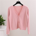 Fashion Cashmere Knitted Long Cardigan