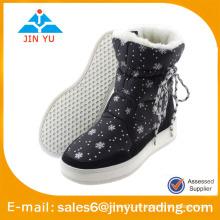 Botas de lana caliente para niños botas a prueba de frío