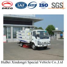 4cbm Isuzu 2t Road Sweeper Truck Euro 4 com novo design