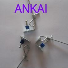 Pre-ligada do gancho galvanizado fio (AK-HW02)