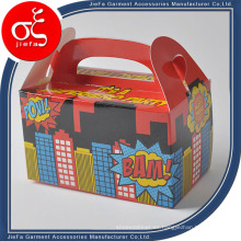 Caja de embalaje de alimentos personalizada y caja de embalaje de la torta