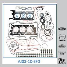 Piezas de recambio del motor Junta del motor AJ03-10-SF0 Para MazdaTribute 2000-2003 años
