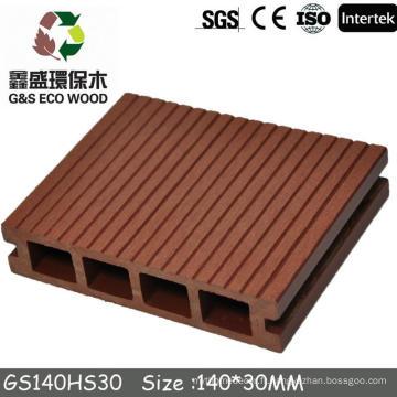Gswpc WPC Engineered Flooring-carrelage en plastique et plate-forme WPC prix (prix 100% recyclé wcp de plate-forme)