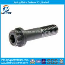 Parafusos de flange especiais de aço de alta resistência de 12 pontos