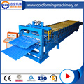 Galvanized Profile Rolling Forming Equipment Double Layer Machine