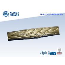 Twelve-Strand UHMWPE Rope