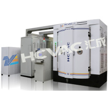 Máquina de recubrimiento por vacío con pulido de magnetrón negro de níquel PVD