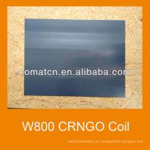 W800 CRNGO en frío de acero al silicio
