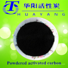 325 mesh black wood based powder activated carbon