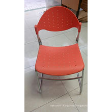 Plastic Dining Room Chairs with Metal Leg