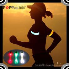 Poppas S640 Road Silicon Twinkle Sécurité Chaîne à main / Bracelet LED Arm Light