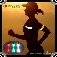 Poppas S640 Roadway Silicon Twinkle Safety Hand Chain/Bracelet LED Arm Light