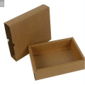 Colorized Kraft Paper Folding Drawer Gift Box